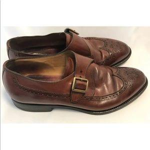 Bostonian Crown Windsor 12 Brown Wingtip Shoes